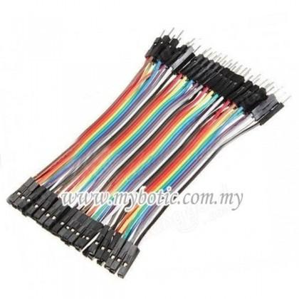 Arduino Breadboard Dupont Jumper Wire 10P 40P Male Female