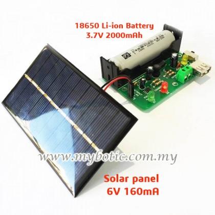 MB-53 Free Energy Wind / Solar Power Bank DIY Kit 【 Mybotic Hobby Kit Series 】