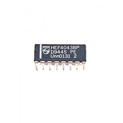 Integrated Circuit IC HEF4043BP DIP-16