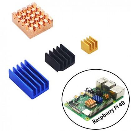 Raspberry Pi 4B Heat Sink Four Piece set