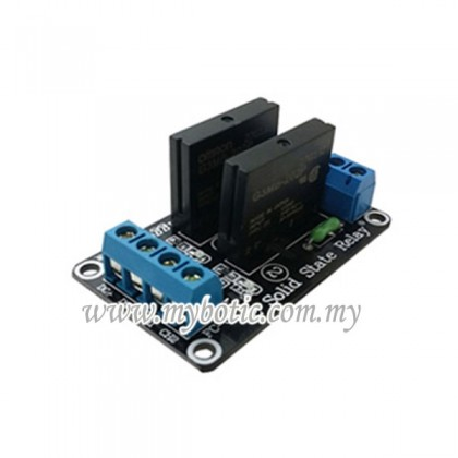 2 Channel 5V Solid State Relay Module (Low Trigger)